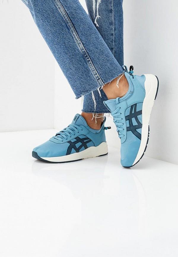 Фото 5 - женские кроссовки ASICSTiger голубого цвета