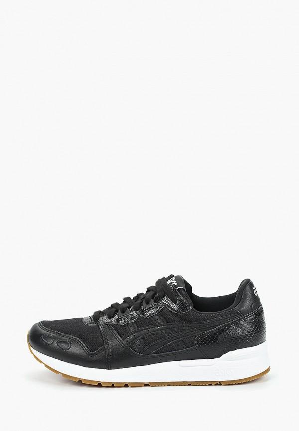 женские кроссовки asics tiger, черные