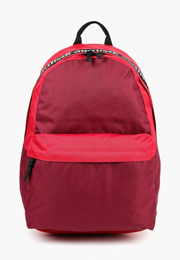 женский рюкзак asics tiger, красный