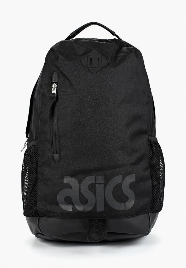 женский рюкзак asics tiger, черный