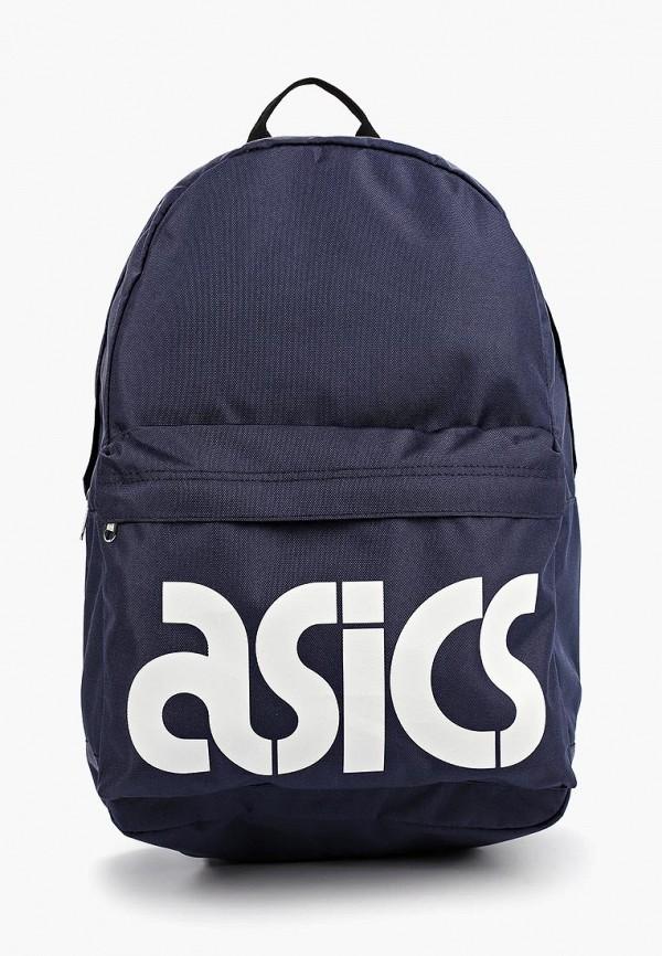 женский рюкзак asics tiger, синий