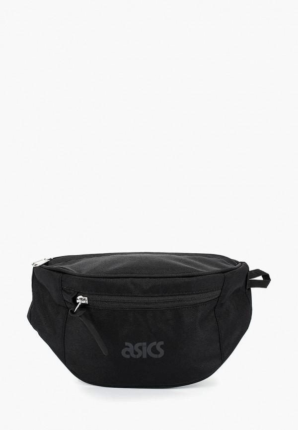 женская сумка asics tiger, черная
