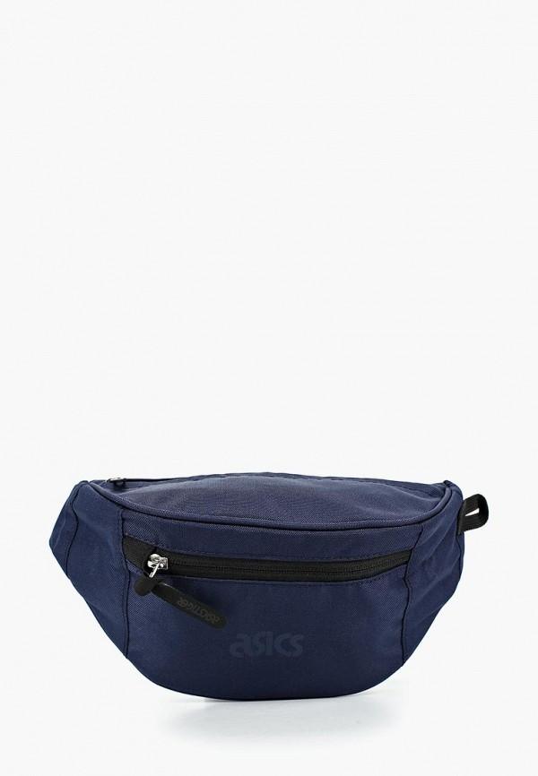 женская сумка asics tiger, синяя