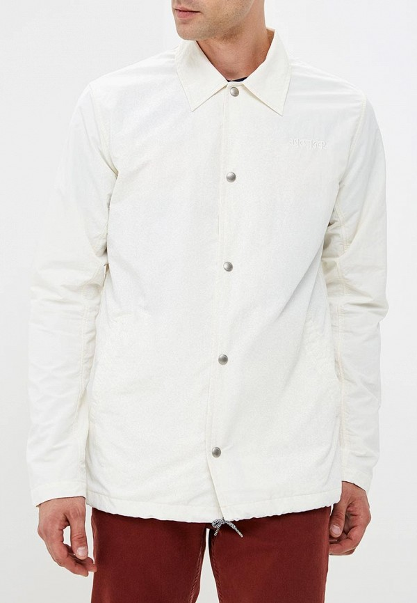 Куртка ASICSTiger, ASICSTiger AS009EMCHGM4, белый, Весна-лето 2019  - купить со скидкой