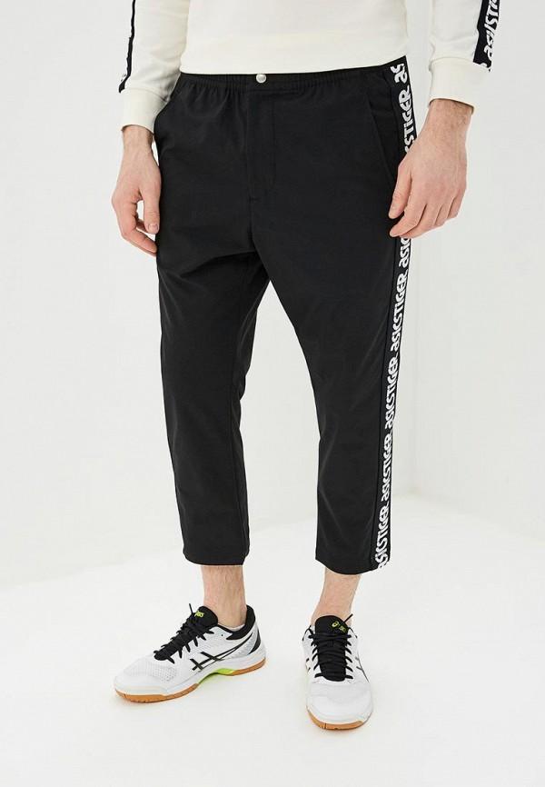 мужские спортивные спортивные брюки asics tiger, черные