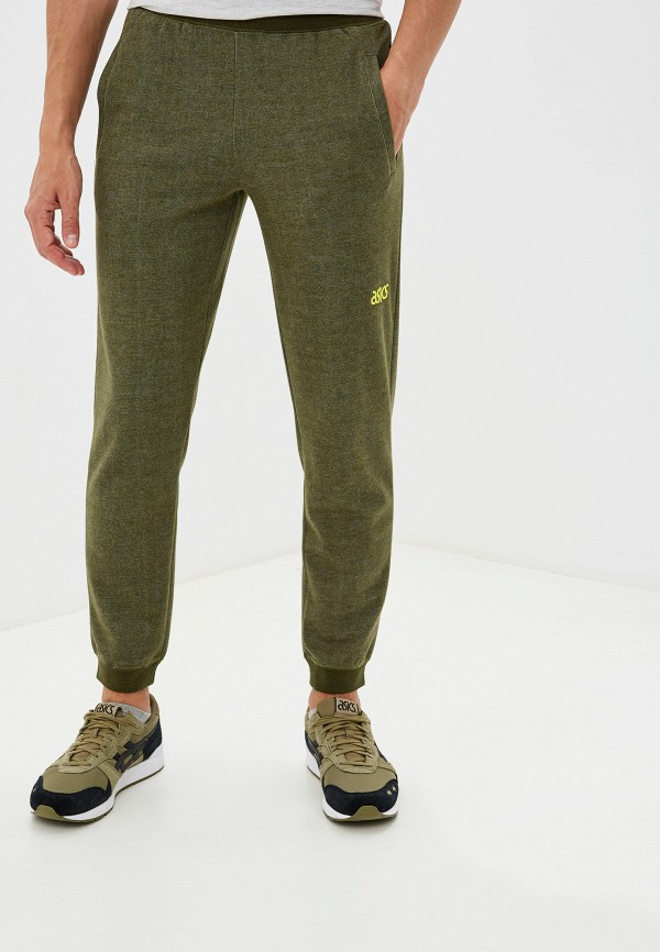 мужские спортивные спортивные брюки asics tiger, хаки