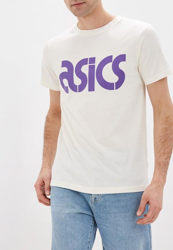 мужская футболка asics, белая
