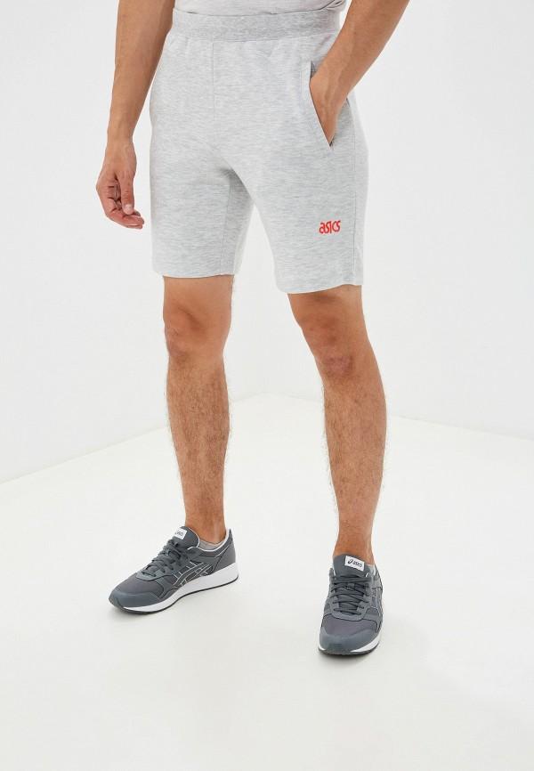 мужские спортивные шорты asics tiger, серые