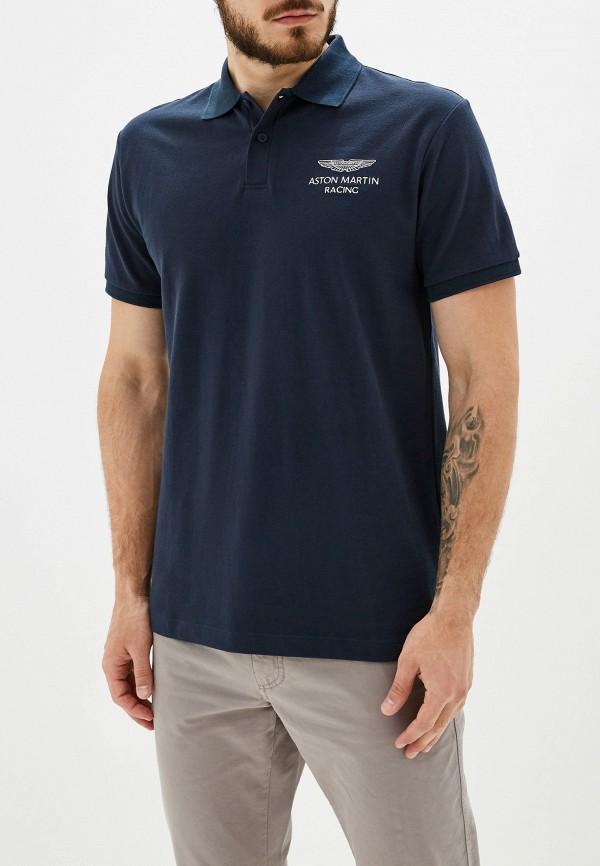Купить Поло Aston Martin Racing by Hackett синего цвета