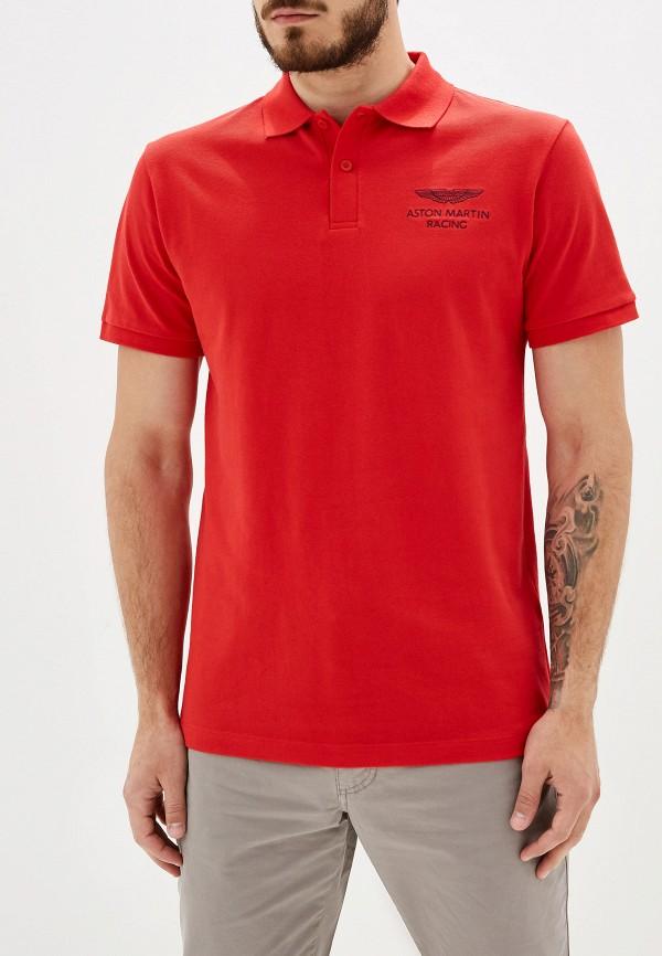 Купить Поло Aston Martin Racing by Hackett красного цвета