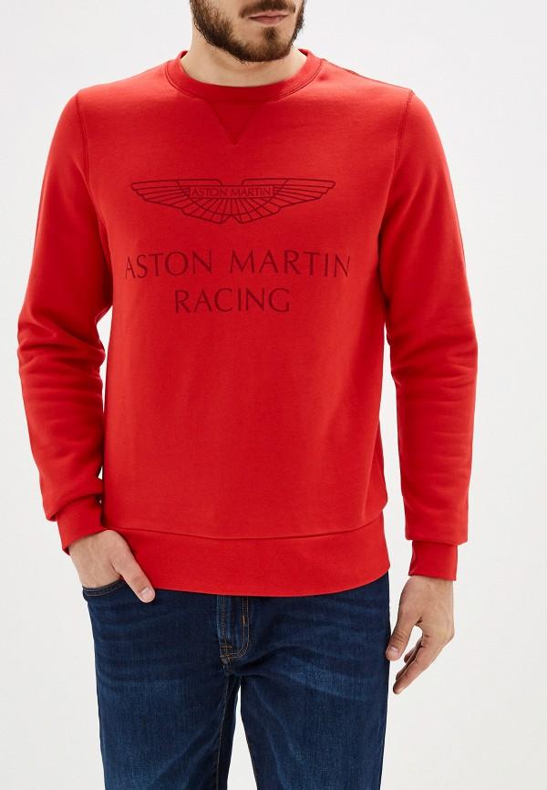 Купить Свитшот Aston Martin Racing by Hackett красного цвета