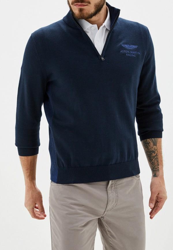 Купить Джемпер Aston Martin Racing by Hackett синего цвета