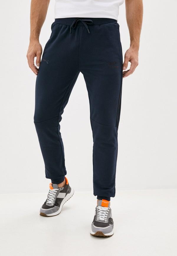 мужские спортивные брюки aston martin racing by hackett, синие