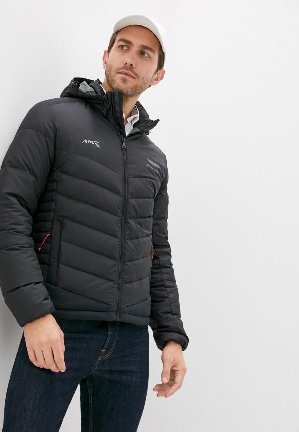 мужская куртка aston martin racing by hackett, черная