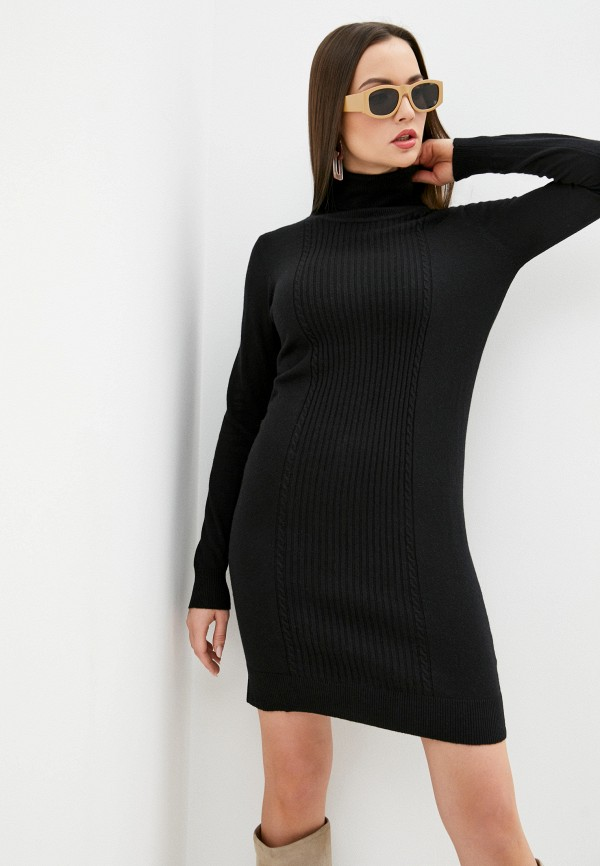 женское платье assuili, черное