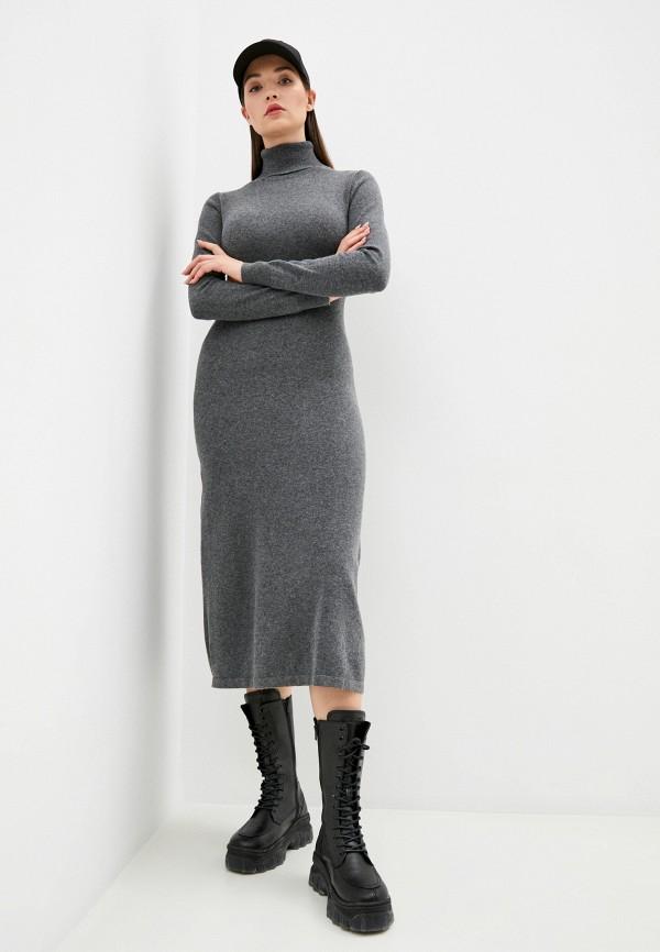 женское платье assuili, серое