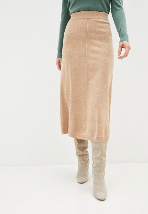 женская юбка assuili, бежевая