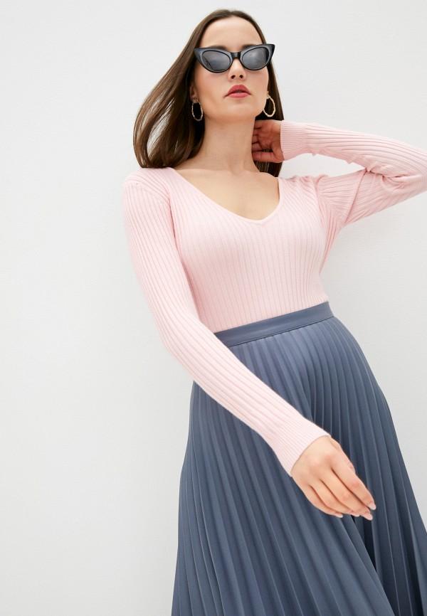 женский пуловер assuili, розовый