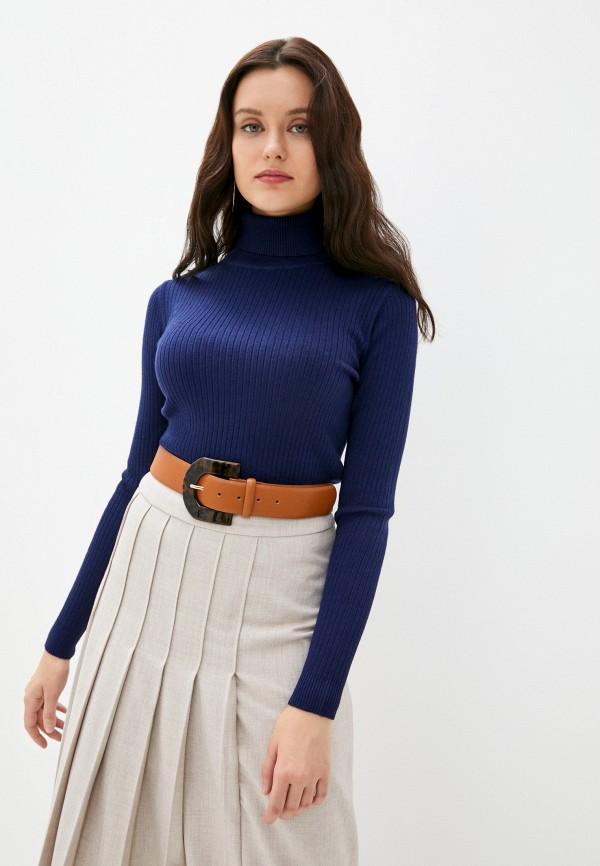 женская водолазка assuili, синяя