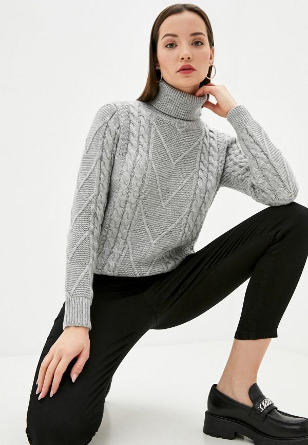 женский свитер assuili, серый