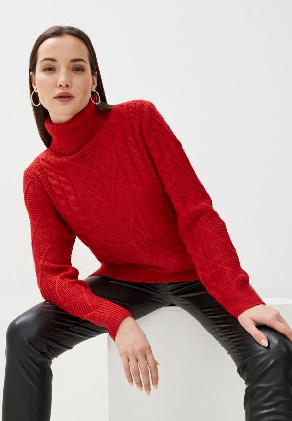 женский свитер assuili, красный