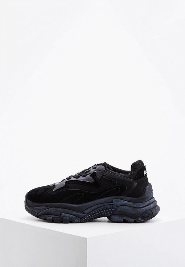 мужские кроссовки ash, черные