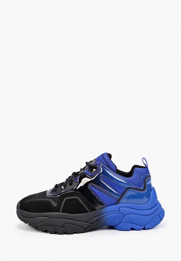 мужские низкие кроссовки ash, черные