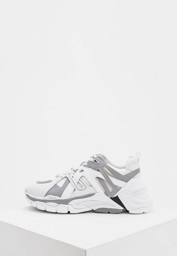 мужские кроссовки ash, белые