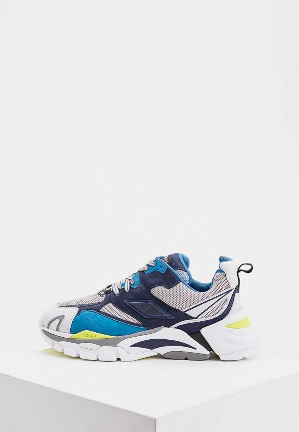 мужские низкие кроссовки ash, синие