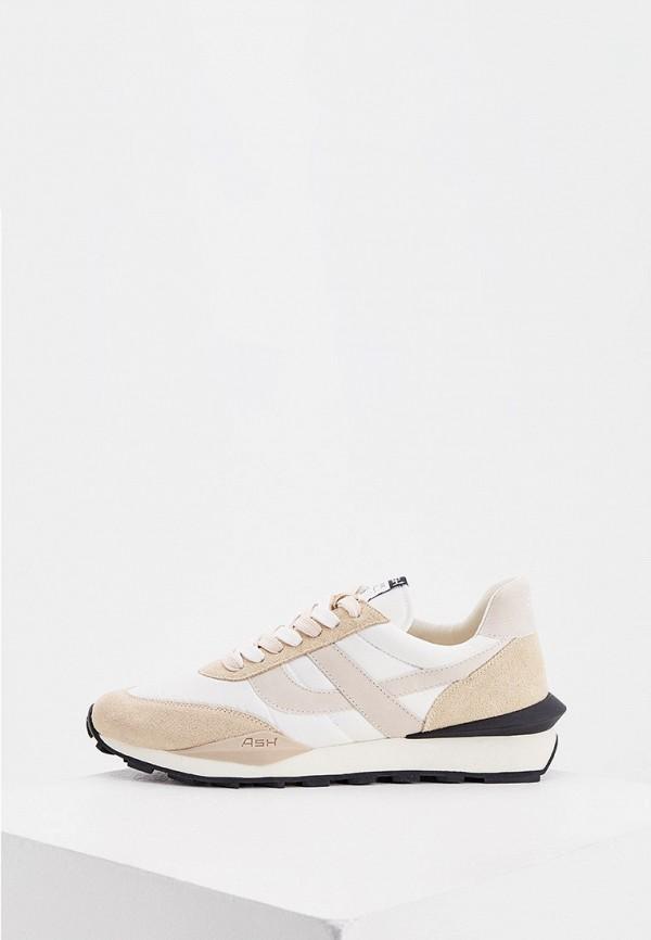 мужские кроссовки ash, бежевые