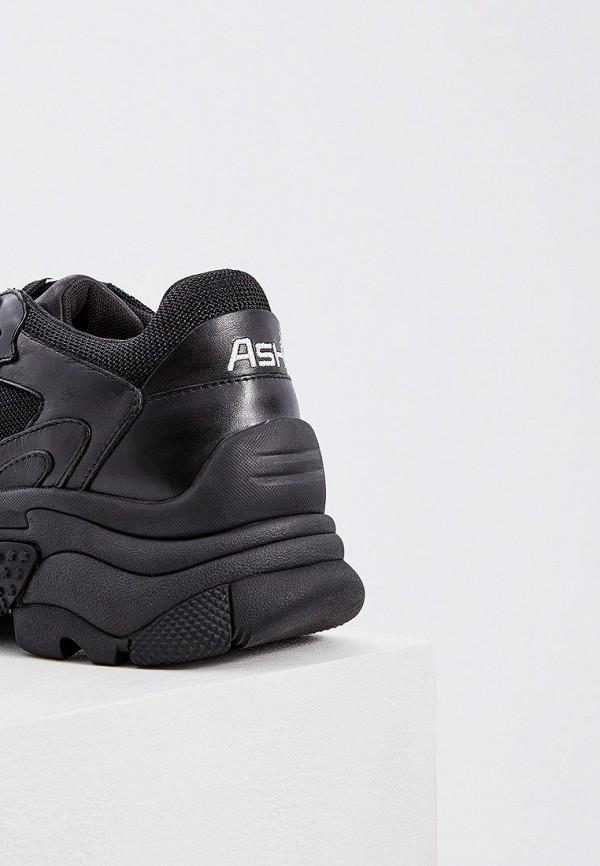 Фото 4 - женские кроссовки Ash черного цвета