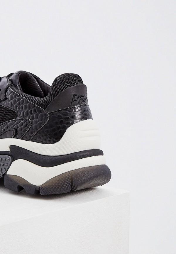 Фото 5 - женские кроссовки Ash черного цвета