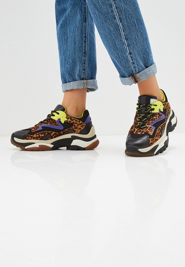 Фото 6 - женские кроссовки Ash разноцветного цвета