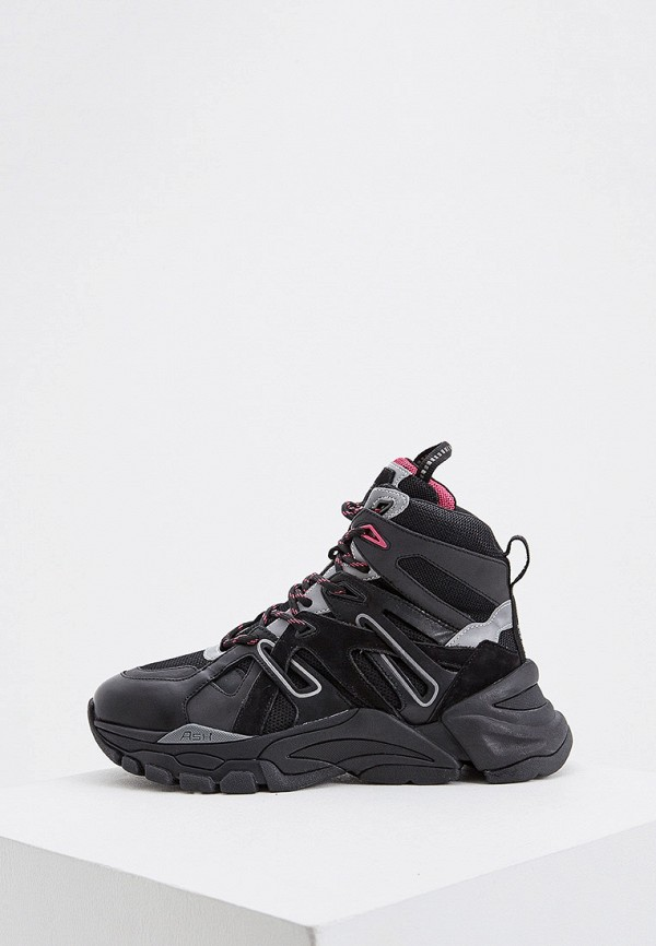 женские кроссовки ash, черные