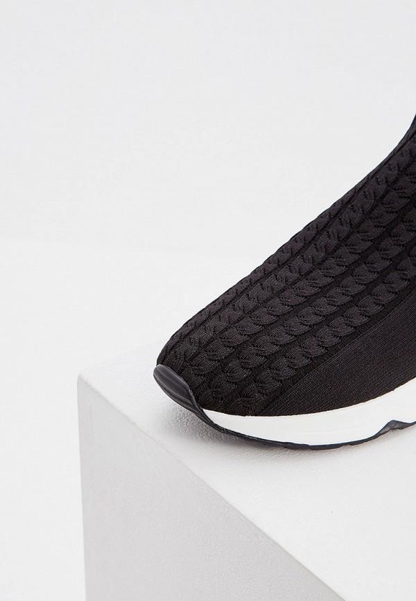 Фото 2 - женские кроссовки Ash черного цвета