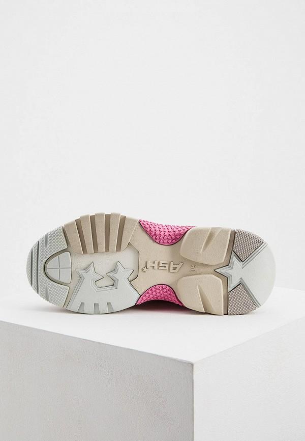 Фото 3 - женские кроссовки Ash розового цвета