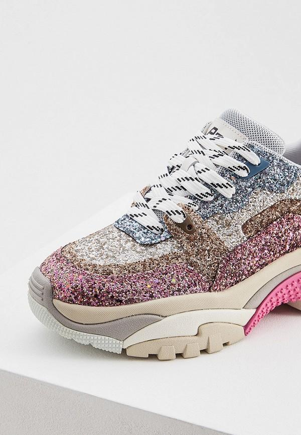 Фото 4 - женские кроссовки Ash розового цвета