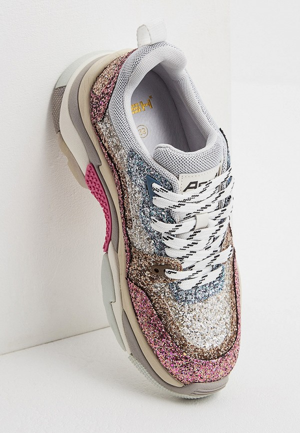 Фото 5 - женские кроссовки Ash розового цвета