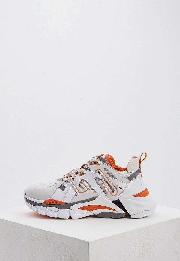 Купить женские кроссовки Ash белого цвета