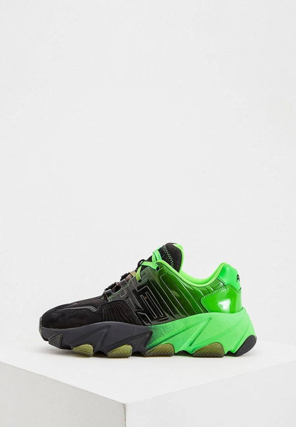 женские кроссовки ash, зеленые