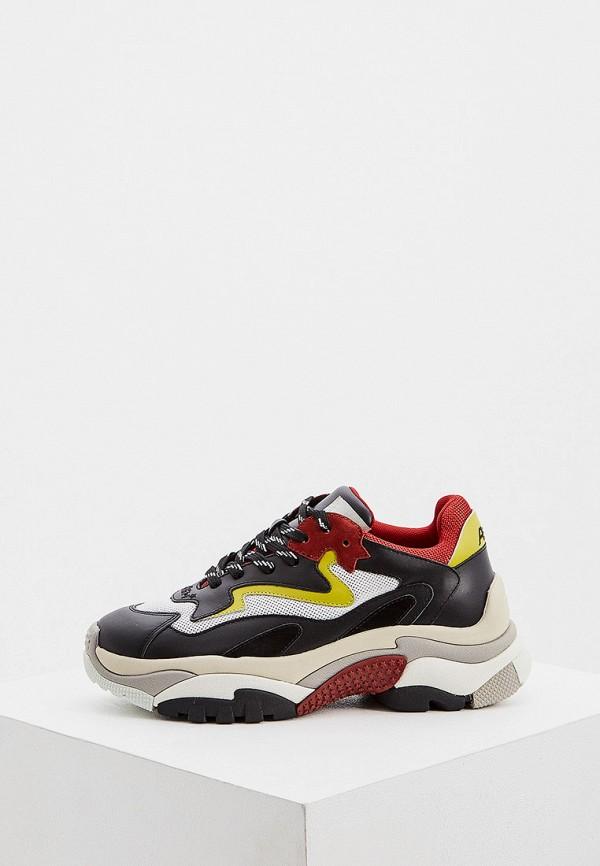 женские низкие кроссовки ash, разноцветные