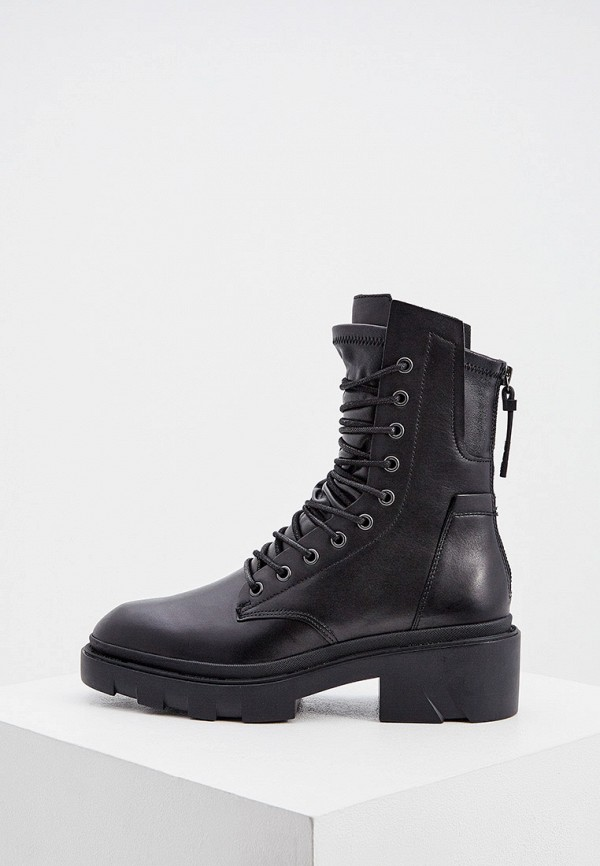 женские ботинки ash, черные