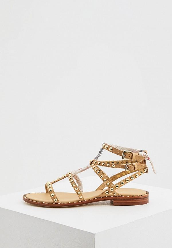 женские сандалии ash, бежевые
