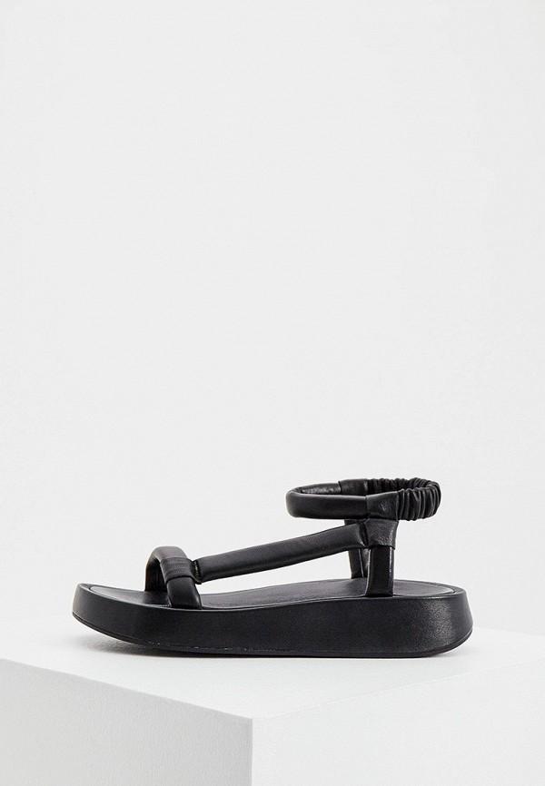 женские сандалии ash, черные