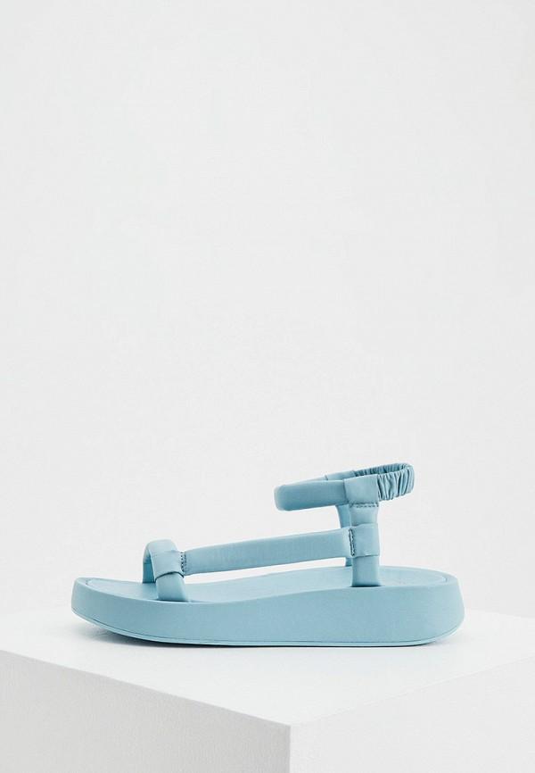 женские сандалии ash, голубые