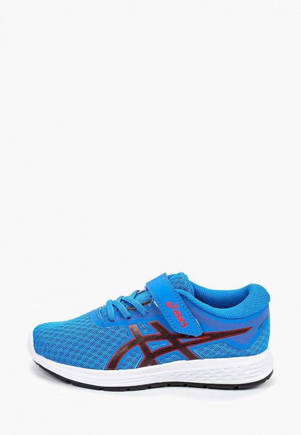 кроссовки asics для мальчика, синие