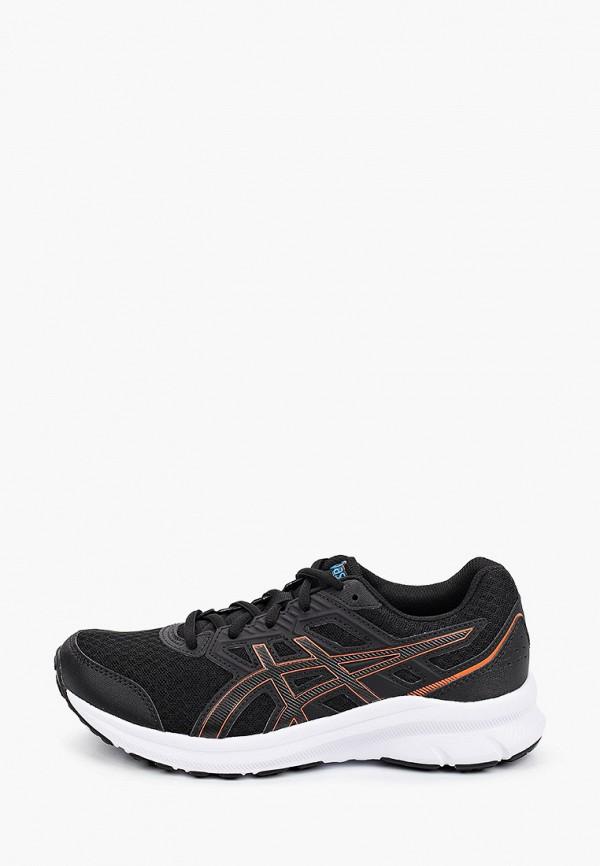 кроссовки asics для мальчика, черные