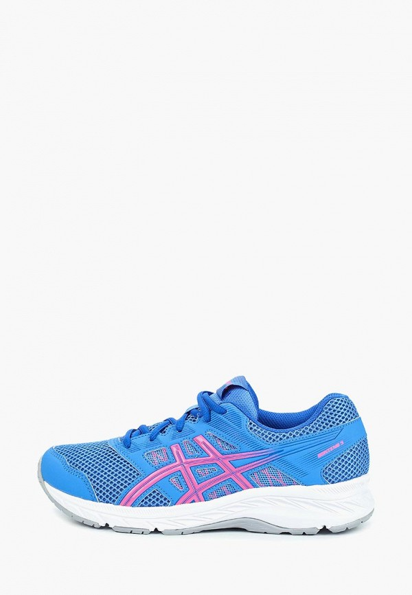 кроссовки asics для девочки, синие