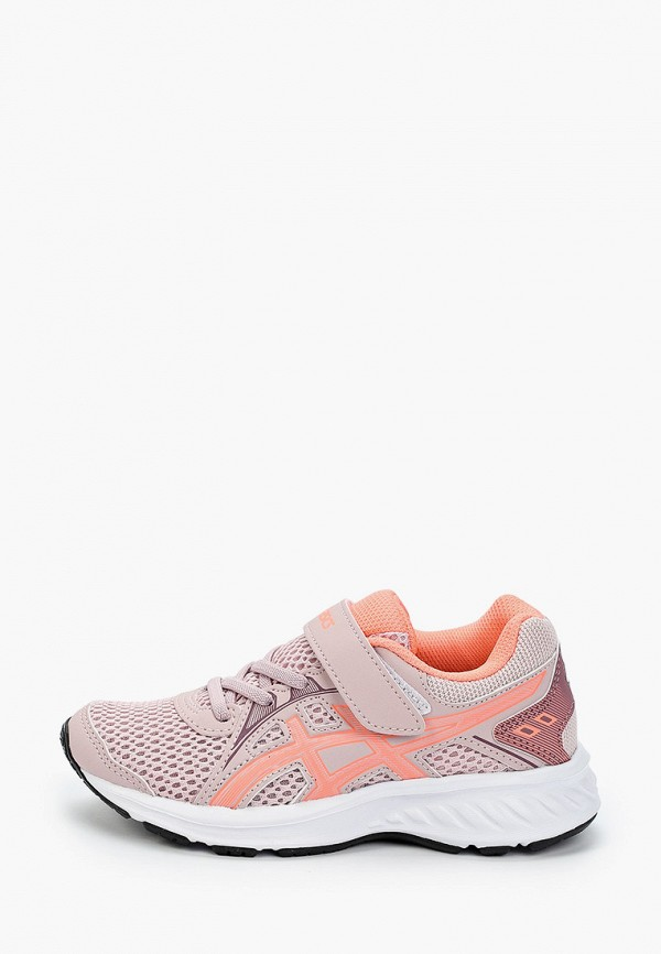 кроссовки asics для девочки, розовые