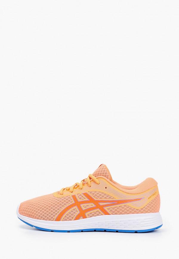 кроссовки asics малыши, оранжевые